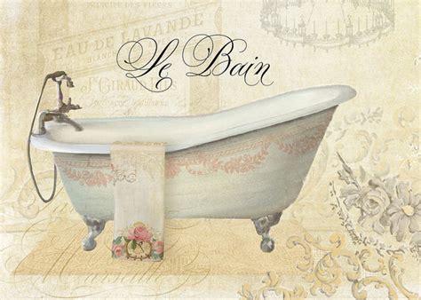 vintage bathroom prints parchment paris le bain vintage bathroom print by audrey