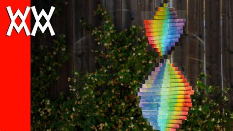 wind spinner easy  fun diy project youtube