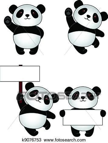 disegni cerca clipart disegno panda cartone animato k9076753 cerca clipart