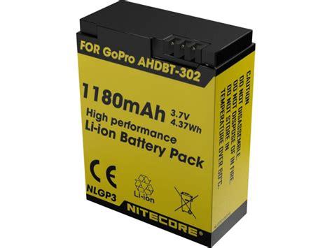 Nitecore Smart Usb Charger For Gopro 4 3 Charger Baterai Murah nitecore nlgp3 1180mah 3 7v battery ahdbt 302 for gopro