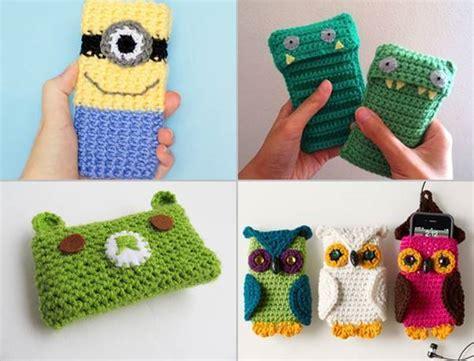 Flower Pattern Bunga Clear Iphone Samsung Casing 1 30 stylish diy crochet phone cases icreativeideas