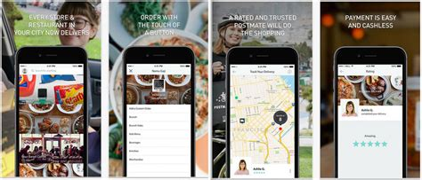 Postmates Background Check How Much Does It Cost To Create An On Demand Delivery App Like Uber