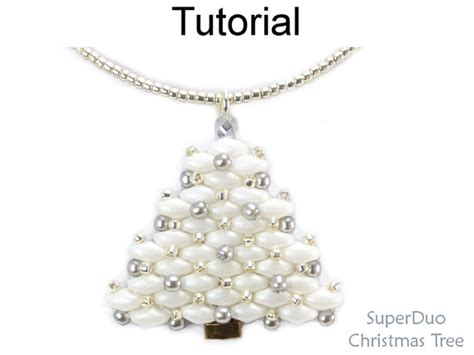 patterns christmas jewelry beading tutorial pattern christmas holiday earrings necklace