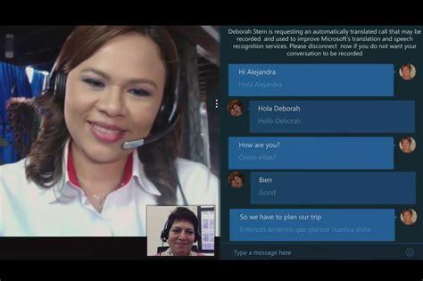 cadenas traduire en anglais 2014 microsoft lance le service de traduction vocal