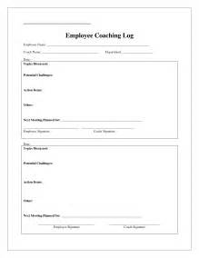 Search Log Template by Coaching Log Template Search Coaching