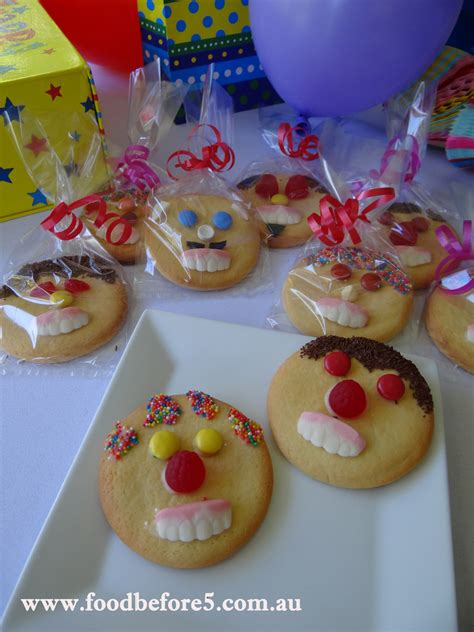 Decorating Eggs funny face biscuits be a fun mum