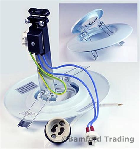 Cob Spotlight Spot Light Halogen Lu Sorot Fitting E27 spotlight downlight converter plate kit with warm white gu10 cob led bulb ebay