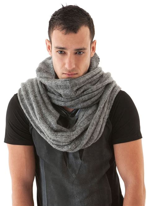 mens scarf soft knit hooded funkdpunk my styles