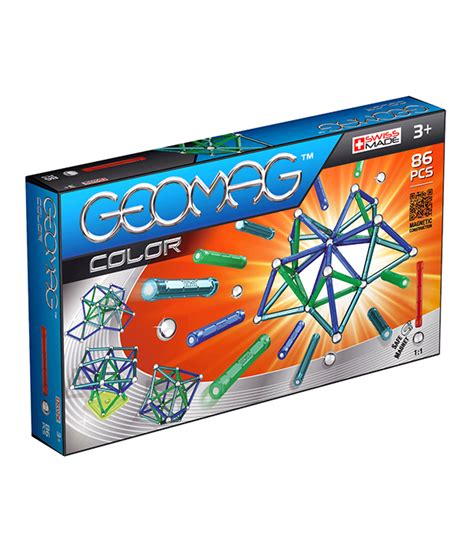 magnetic color magnetic color construction toys geomag 86 pcs
