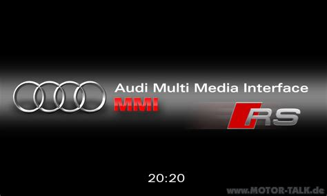 Jobb Rse Porsche by Rs Screen Startbildschirm Mmi High Audi A5 B8 203482381