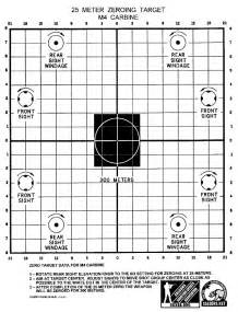 Where to get 25m ar15 m16 zero target calguns net