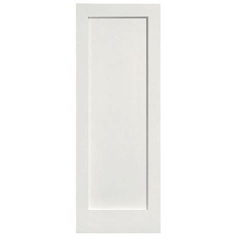 interior door home depot masonite 32 in x 80 in mdf series smooth 1 panel solid primed composite single prehung