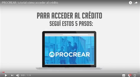 credito procrear 2016 credito procrear madariaga gob ar