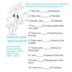 nouns pictures worksheets images