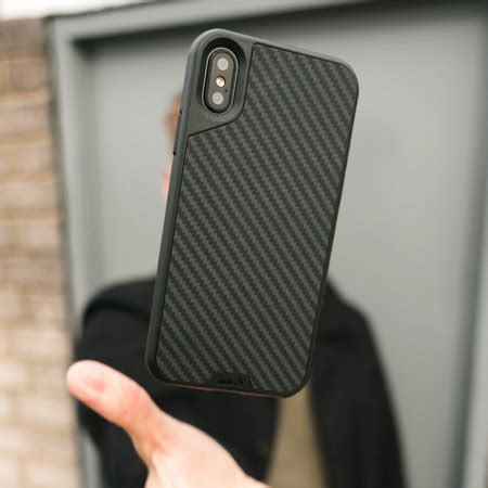 mous limitless  iphone  aramid tough case carbon fibre
