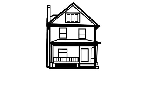 drawing house clipart   cliparts
