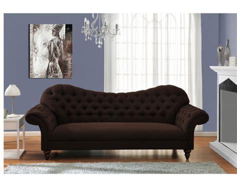 Canap 233 Baroque Tissu Simili Cuir Noir Et Canap 233 3 Places Baroque En Coloris Beige Cyrielle