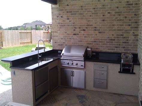 Outdoor Kitchens Houston by Outdoor Kitchen Grills Houston Outdoor Kitchen Building