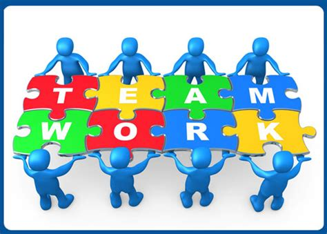 teamwork makes the dream work pucks and puzzle pieces
