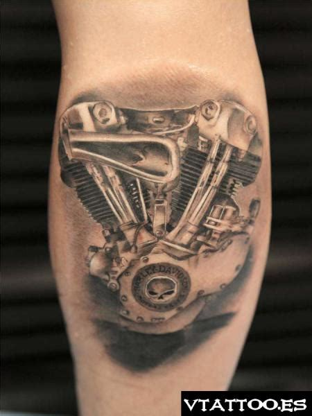 biomechanical motor tattoo harley engine biomechanical tattoo szukaj w google