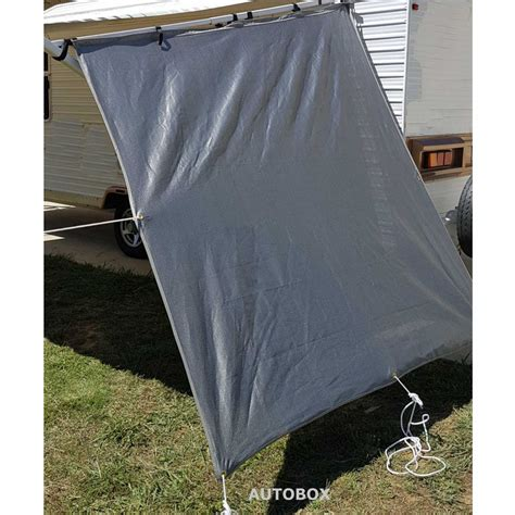Shade Cloth Awnings For Caravans by Poptop Caravan Privacy Screen End Wall 1850 X 2050 Sun