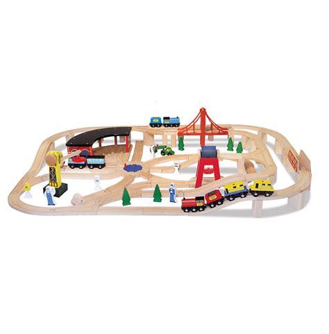 Wooden St Set wooden track table set 80 wooden set