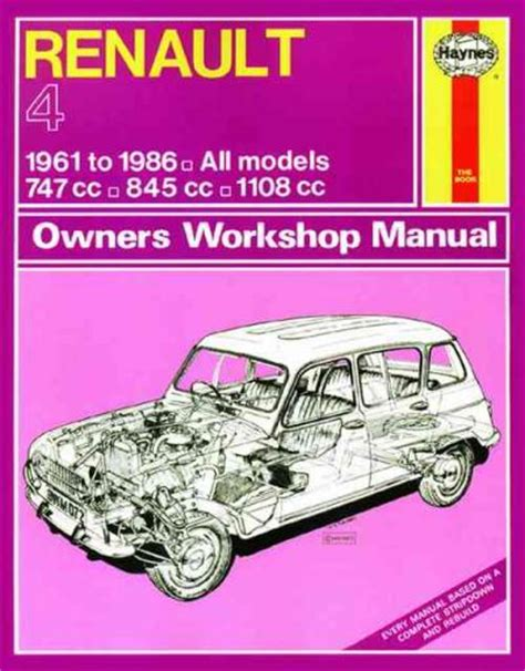 service manual online car repair manuals free 1986 buick electra parking system service renault 4 1961 1986 haynes service repair manual sagin workshop car manuals repair books