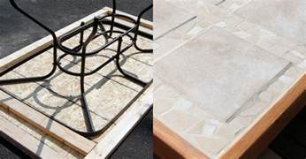 Replacement Patio Table Tops Remodelaholic How To Replace A Patio Table Top With Tile