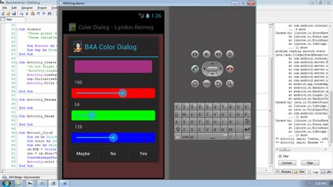 tutorial android dialog android color dialog tutorial using basic4android free
