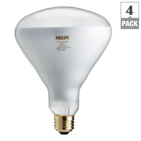 Lu Tembak 1000 Watt Philips philips 65 watt equivalent halogen br40 flood light bulb