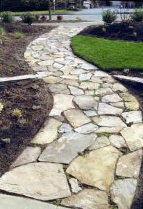 front flagstone walkway ideas beautiful flagstone walkways to make natural addition for