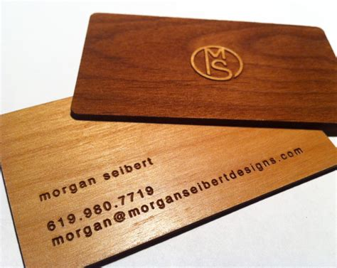 woodworking business 25 unconventional wooden business cards inspirationfeed