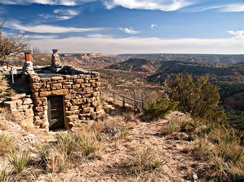 Cabins Near Palo Duro by Palo Duro State Park Goodnight Cabin Parks