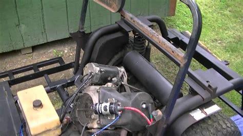 columbia parcar golf cart restore part  youtube
