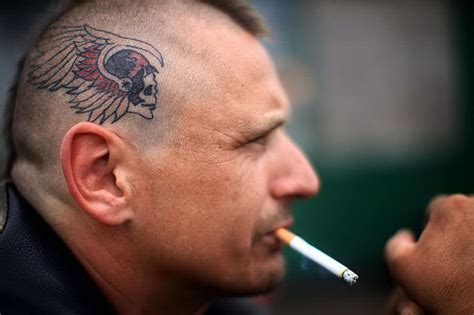 tattoo hells angel argentina hells angels and demian from plata giving new