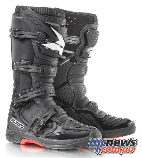 Boot One ficeda announce axo mx one boots mcnews au