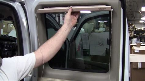 installing curtains in van conversion van bind installation how to install some