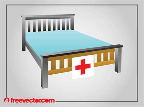 free bed hospital bed graphics vector graphics freevector
