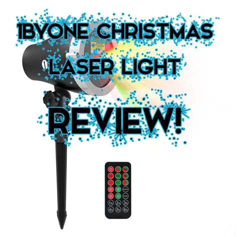 laser christmas lights reviews 1byone aluminum alloy outdoor laser christmas light