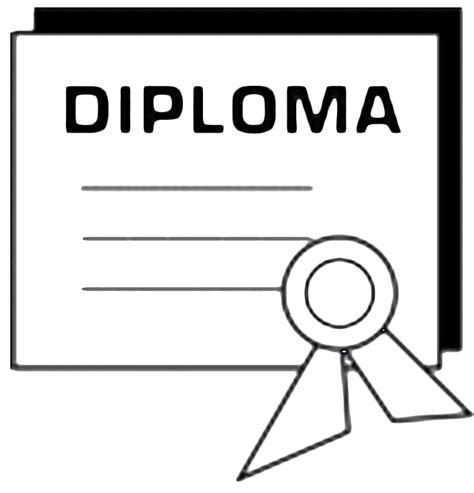 diploma clipart free graduation clip