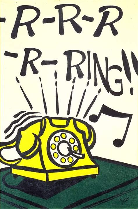 roy lichtenstein cuadros roy lichtenstein 1962 r r r r ring oil on canvas 61