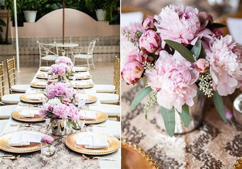 pink and gold bridal shower decorations gold and pink bridal shower a best day
