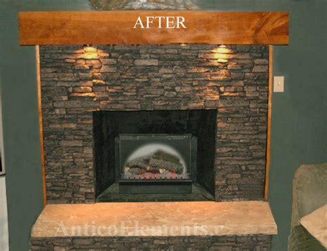 Faux River Rock Fireplace Panels by Faux Panels Part 3