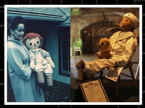 annabelle doll not true annabelle n robert real haunted dolls boldsky