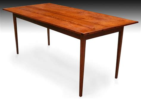 Cherry Dining Room Table Shaker Tapered Leg Dining Table Cherry Finewoodworking