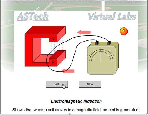 electromagnetic induction lab part 66 basic vlab