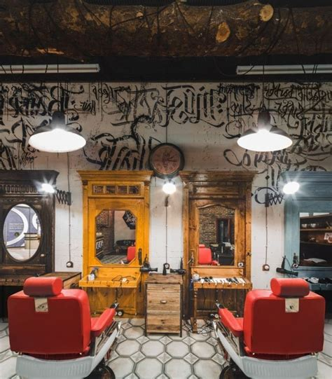 the 25 best barber shop interior ideas on pinterest