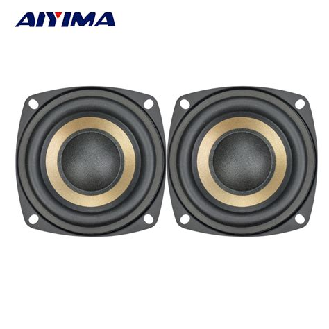 Speaker Subwoofer Mobil Advance Hifi Bass aiyima 2pcs 3 inch 15w hifi bass subwoofer speaker horns