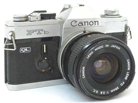 Slr Canon Ftb Analog Bukan Digital photography l3 the begining types