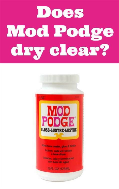 Mod Podge Decoupage - does mod podge clear decoupage craft and mod podge